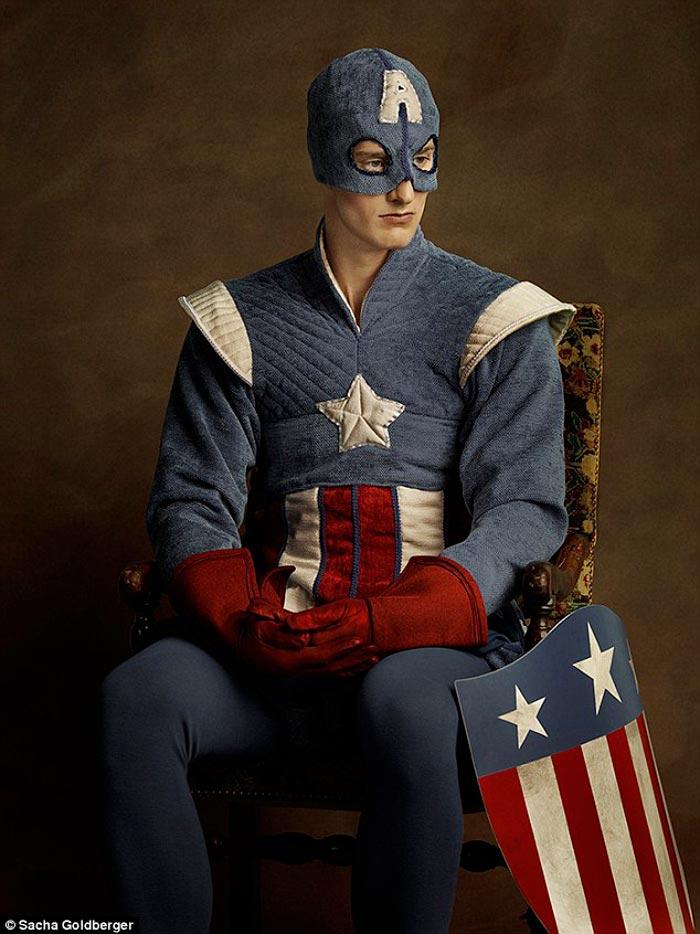 Captain America Flemish style