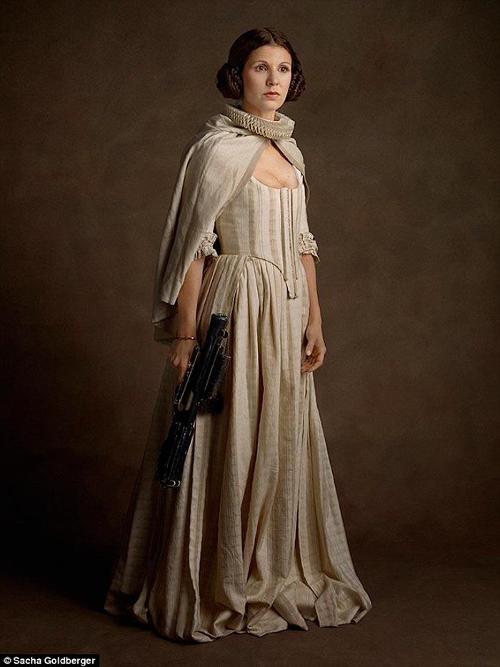 Princess Leia Flemish style