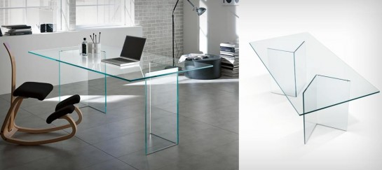 BACCO GLASS TABLE | BY TONELLI