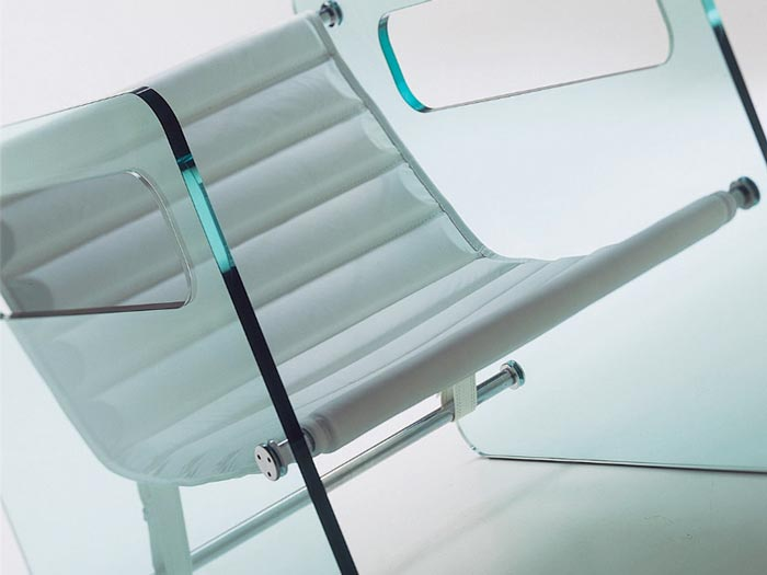Tonelli Naked Glass Armchair