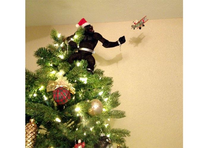King Kong Christmas tree