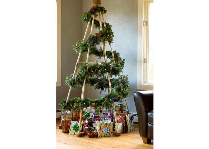 Tipee Christmas tree