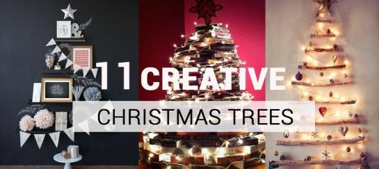 11 CREATIVE CHRISTMAS TREES