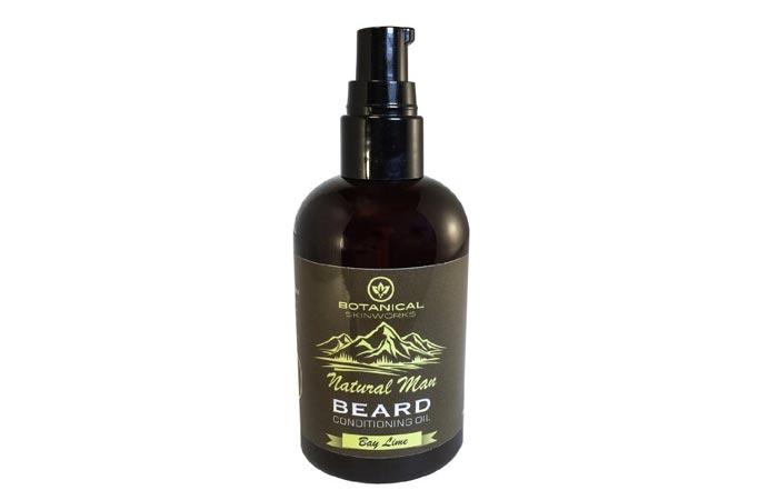 natural men beard oil by Botanical Skinworks