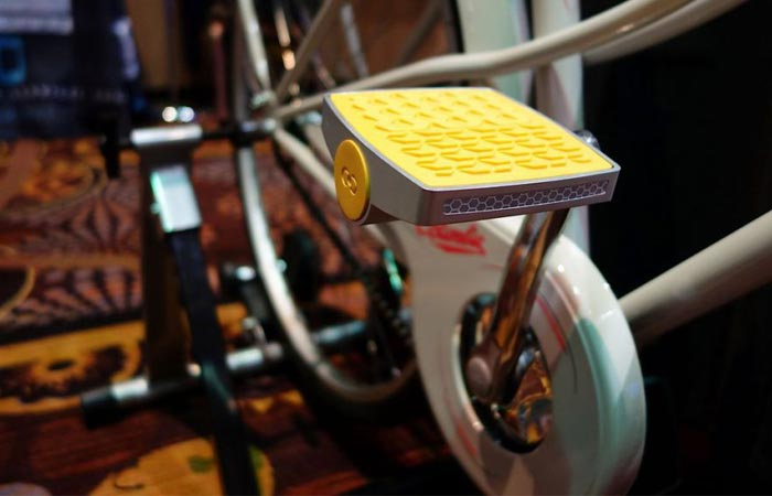 Anti -theft bike pedal