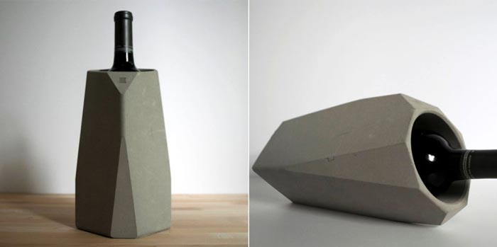 Corvi concrete wine cooler