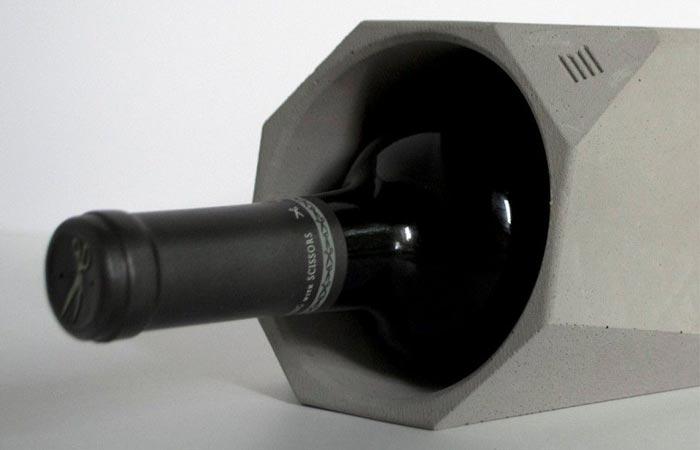 Corvi concrete wine cooler for Concrete wine cooler