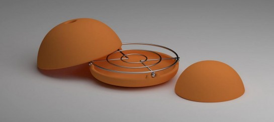 EGLOO | CANDLE POWERED HEATER