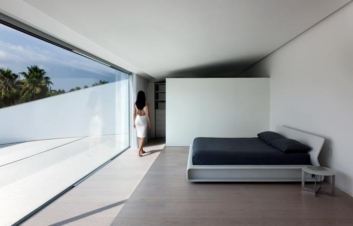 Bedroom at Casa Balint House