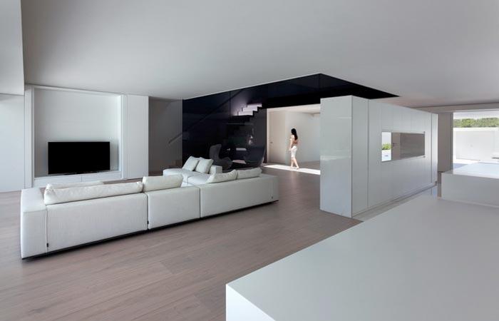 Interior decor at Casa Balint House