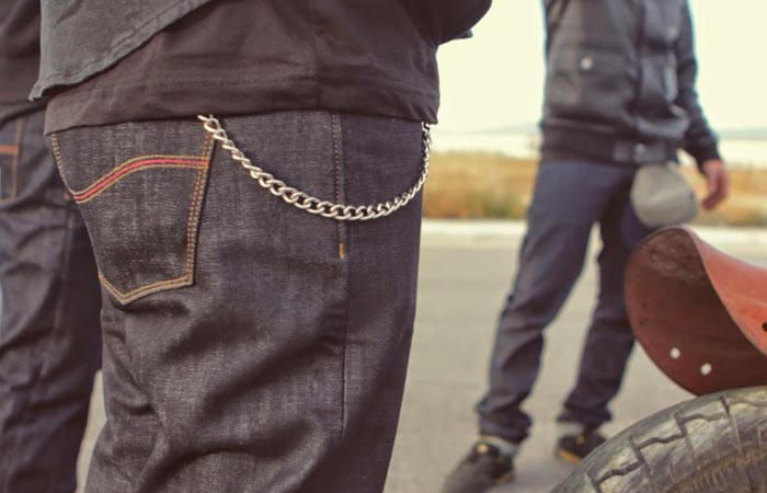 Kevlar lined motorcycle jeans from Tobacco Motorwear
