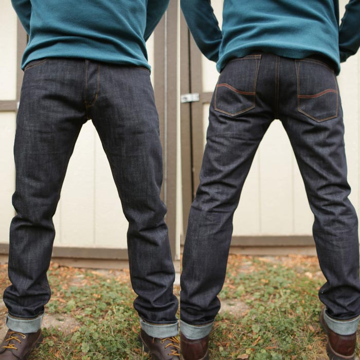 Kevlar lined motorcycle jeans