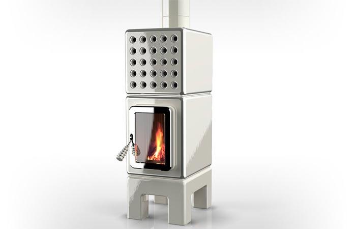 La Castellamonte stove