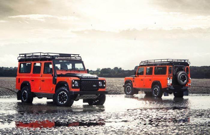 The Adventure Edition Land Rover Defender