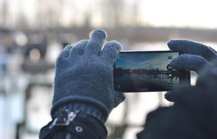 Nanotips to transform any glove into a touchscreen friendly glove