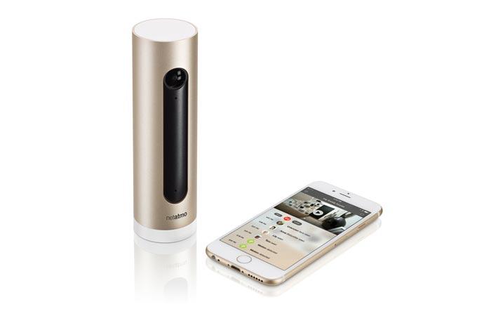 Netatmo camera and mobile app