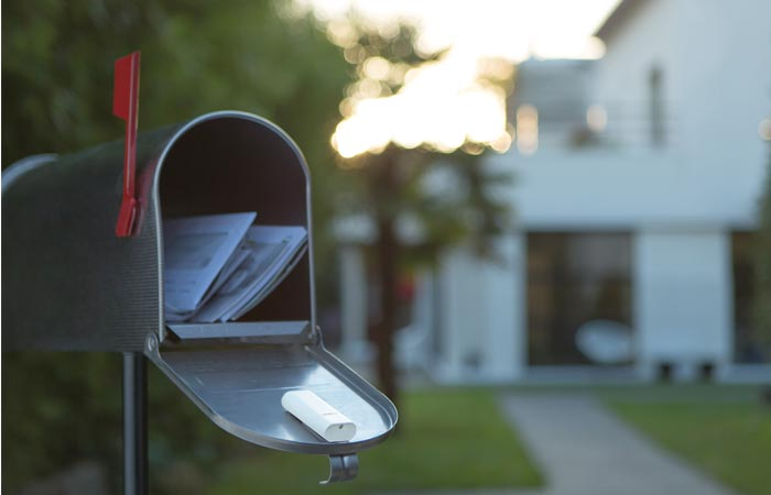 Netatmo tag added to a mail box