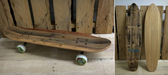 PALLET SKATEBOARDS | BY SALVAGED SKATEBOARDS