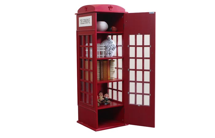 British phone booth cabinet