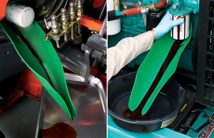 Flexible Draining Tool