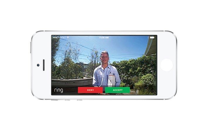 Wi-fi enabled doorbell app