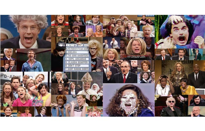 Images from the Saturday Night Live book