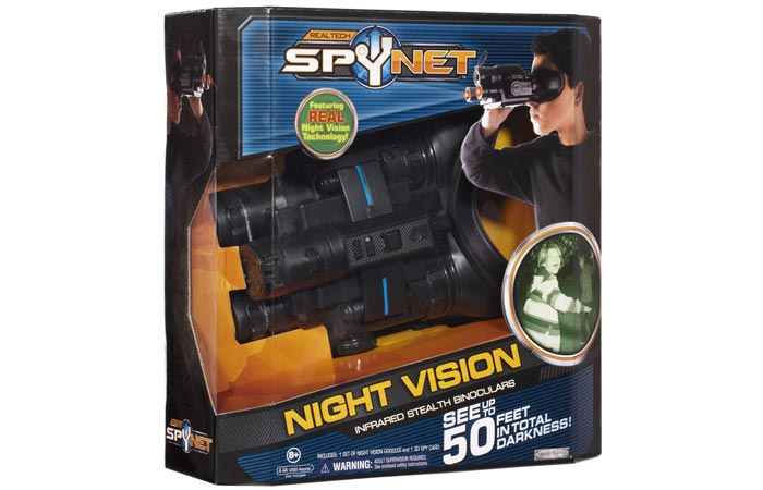 Spy Net night vision goggles