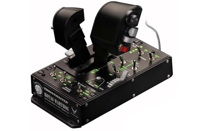 Thrustmaster Hotas Warthog engine control