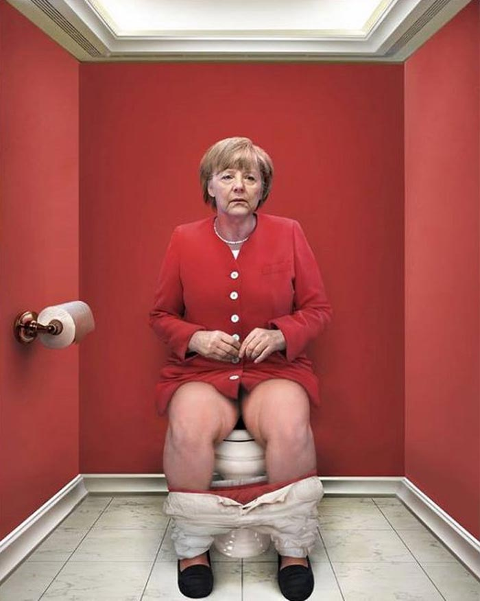 THE DAILY DUTY   WORLD LEADERS POOPING