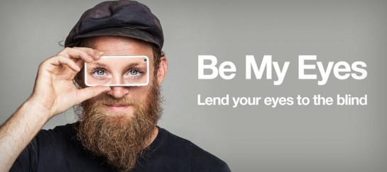 BE MY EYES | LEND YOUR EYES TO THE BLIND