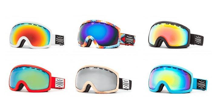 Bosky MK. II goggles colors