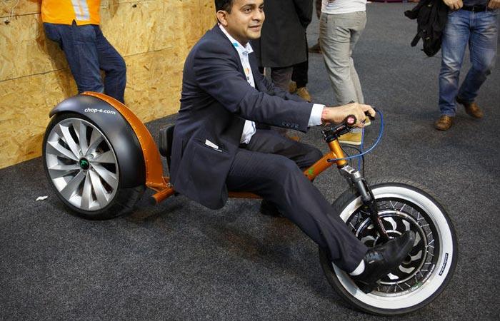 Chop-E electric minibike