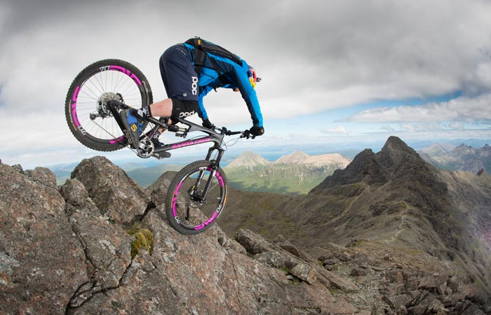 Danny Macaskill: The Ridge video at Isle of Skye