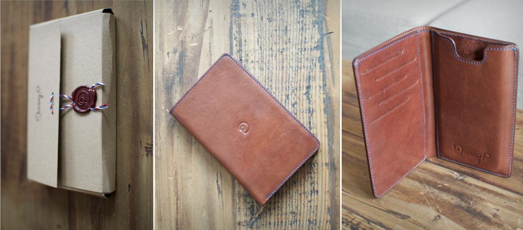 Danny P iPhone 6 leather wallet