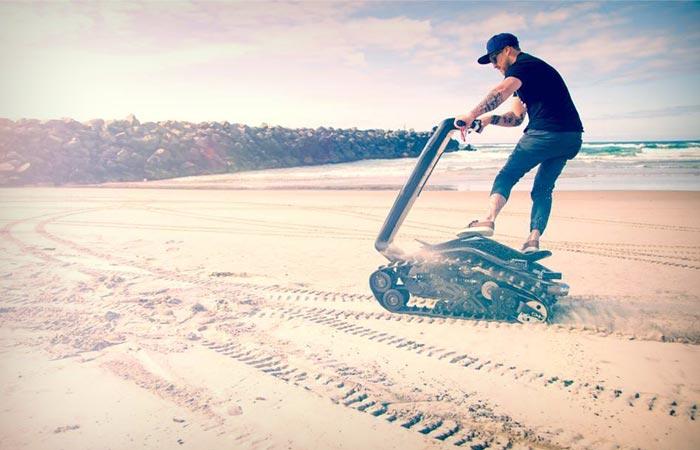 DTV Shredder all-terrain segway and skateboard