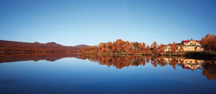 Lake at Fjällnäs hotel