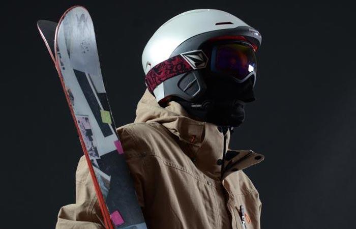 Forcite Alpine smart snow helmet with hd camera