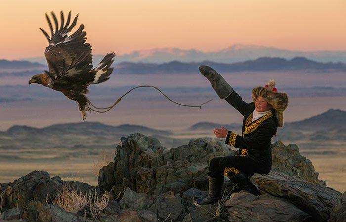 The Golden Eagle Festival in Mongolia
