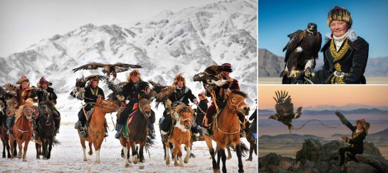 THE GOLDEN EAGLE FESTIVAL IN MONGOLIA