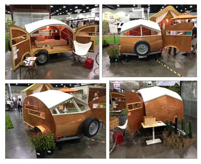 Hutte Hut teardrop trailer