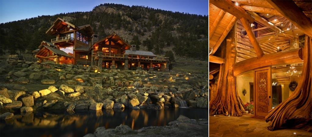 Log Cabin in Loveland Colorado