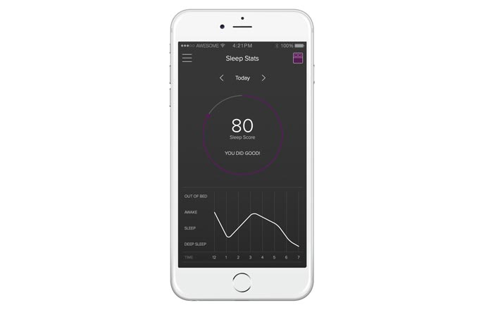 Luna smart mattress app