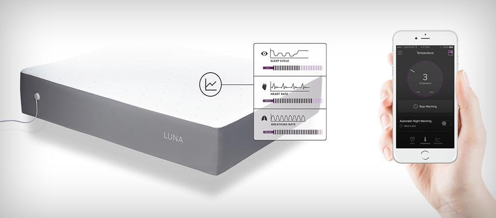 Luna smart mattress cover