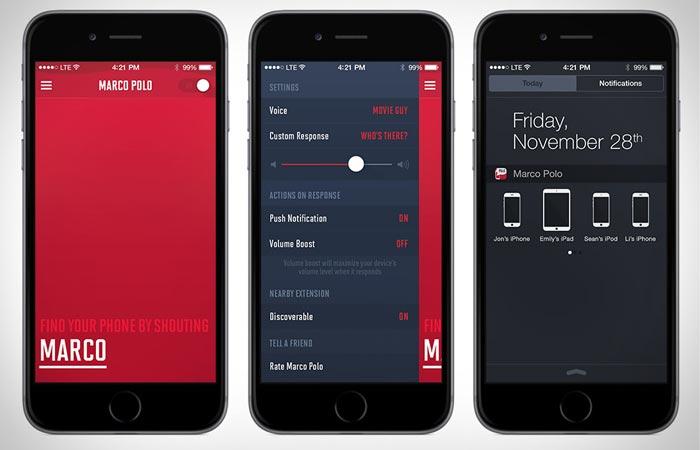 Marco Polo mobile app