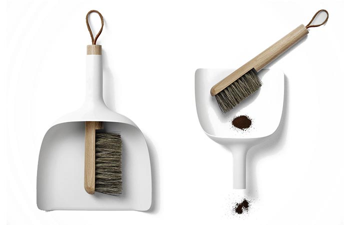 Sweeper and funnel from Menu