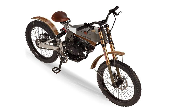 Motoped Cruzer board track racer style