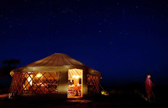 Accommodation at Nomad Safari