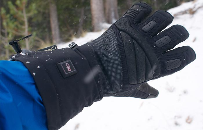 Outdoor Research heated glove