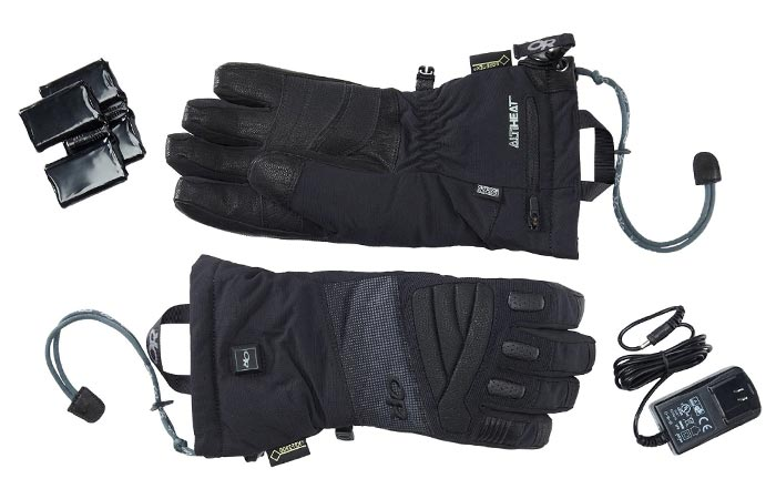 Outdoor Research Lucent heated glove accessories