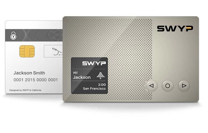 Swyp card replaces all your credit cards